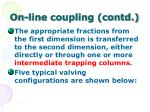 on line coupling contd47