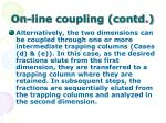 on line coupling contd52