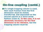 on line coupling contd53