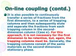 on line coupling contd54