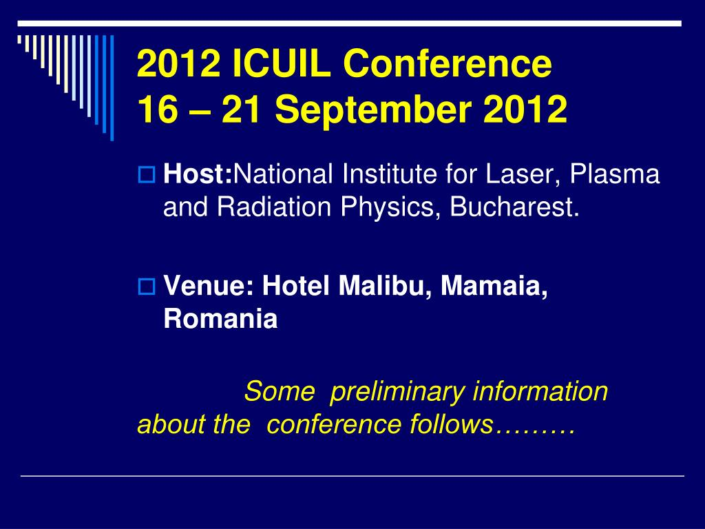 2012 icuil conference 16 21 september 2012 l.