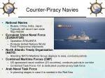 counter piracy navies