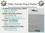 other counter piracy parties