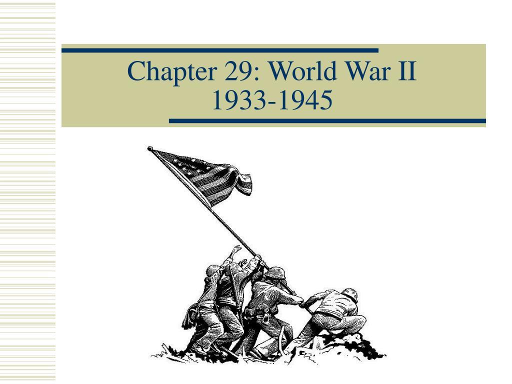 chapter 29 world war ii 1933 1945 l.