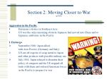 section 2 moving closer to war p 816