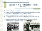 section 4 war on the home front pp 831 832