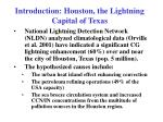 introduction houston the lightning capital of texas