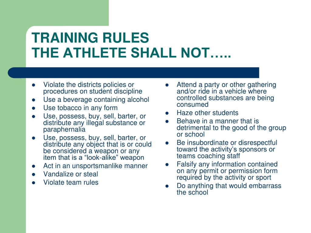 Violate the districts policies or procedures on student discipline