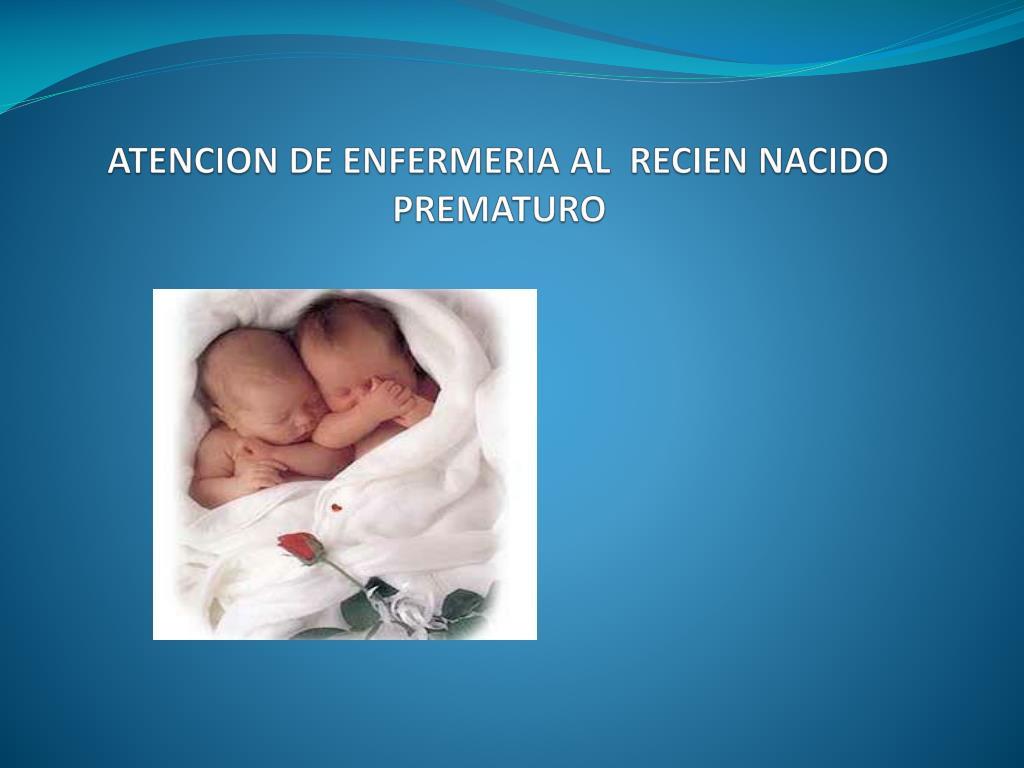 atencion de enfermeria al recien nacido prematuro l.