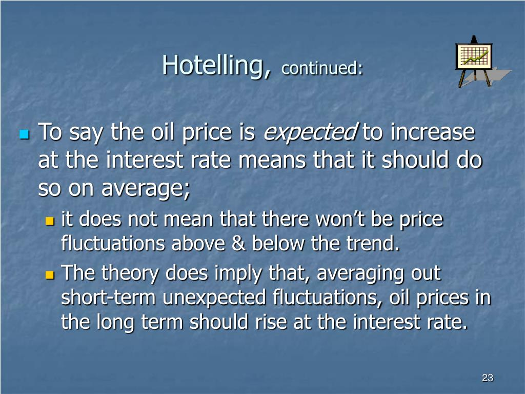 Hotelling,