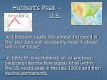 hubbert s peak u s