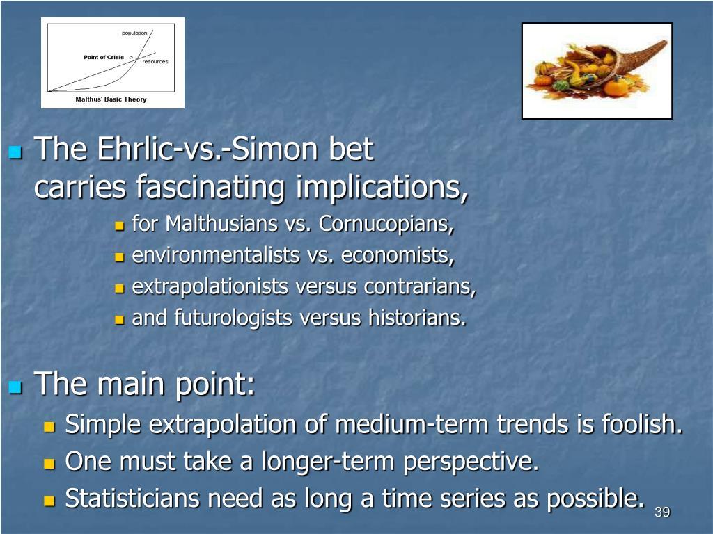 The Ehrlic-vs.-Simon bet