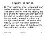 ezekiel 38 and 3924