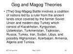 gog and magog theories26