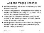 gog and magog theories27