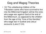 gog and magog theories41