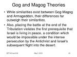 gog and magog theories49