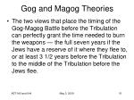 gog and magog theories51