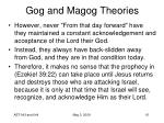 gog and magog theories61