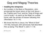 gog and magog theories63