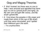 gog and magog theories68