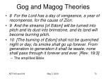 gog and magog theories70