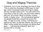 gog and magog theories76