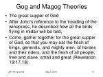 gog and magog theories79