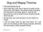 gog and magog theories81
