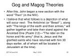 gog and magog theories85