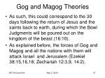 gog and magog theories87