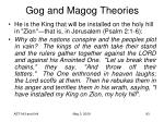 gog and magog theories93