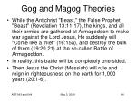 gog and magog theories94