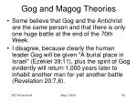 gog and magog theories95