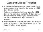 gog and magog theories97