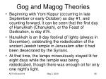 gog and magog theories98