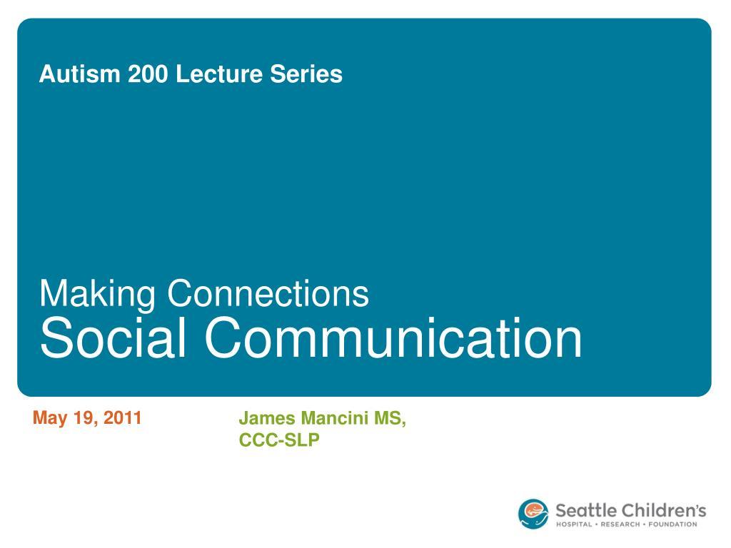 autism 200 lecture series l.