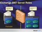 exchange 2007 server roles