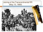 joining of the transcontinental rr may 10 1869