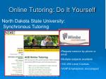 online tutoring do it yourself