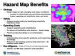 hazard map benefits