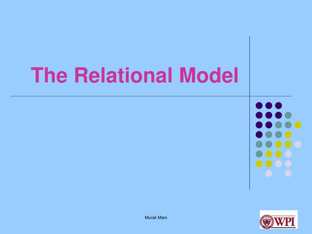 the relational model l.