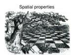 spatial properties