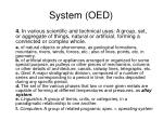 system oed43