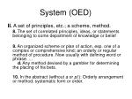 system oed44
