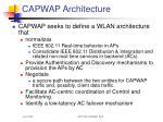 capwap architecture