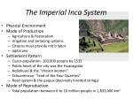 the imperial inca system