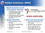 global initiative wsis