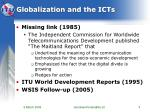 globalization and the icts5