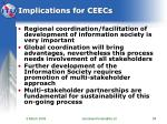implications for ceecs
